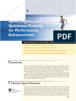 Speed,Agility, and Quickness Training for Performance Enhancement