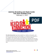 kids konnection idenity branding and style guide
