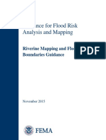 Riverine Mapping and Floodplain Guidance Nov 2015