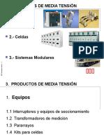 Productos de Media Tensión