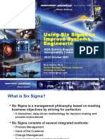 Using Six Sigma to Improve Systems Engineering