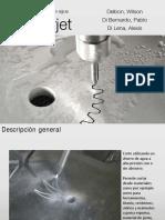 Waterjet - Presentacion - Delbon, Di Lena, Di Bernardo