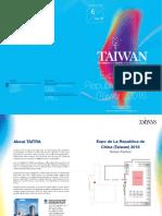 Catalogo Expositores Expo Taiwán 2016-Actualizado