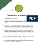 Farmácia Da Terra Modulo 1- Defumaçao