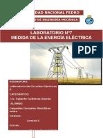 Laboratorio n7 Medida de La Energia Electrica XAVI FIME