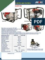 Motopompa Pentru Apa Senci SCWT80