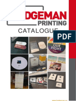 Badgeman Printing - catalogue