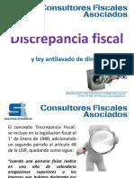 Discrepancia Fiscal y Ley Antilavado