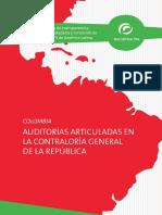Informe Auditorías Articuladas en La Contraloría General de La República Colombia