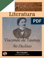 No Declinio - Visconde de Taunay