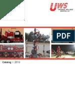 UWS Catalog 2013