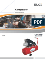 1 2 HP Vayu Portable Air Compressor Domestic