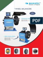 MANATEC Wheel Balancer | SISTEMA AUTOMOTRIZ