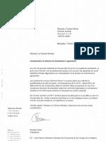 Brief van de sociale partners aan Charles Michel