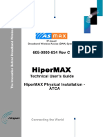 605-0000-834 HiperMAX Physical Installation - ATCA Rev C