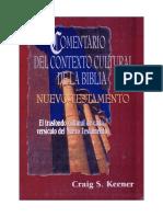 Comentario Del Contexto Cultural de La Biblia. NUEVO Testamento (OCR) (Google)