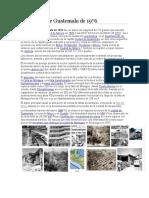 Terremoto de Guatemala de 1976