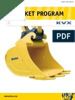 Excavator KVX Bucket