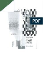 O que é  política.pdf