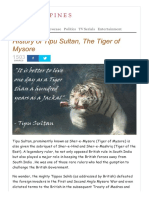 23 Http Indiaopines Com History Tipu Sultan Tiger Mysore