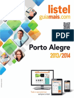 Listel - Porto Alegre (2013 e 2014)