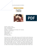 Sinopsis Novel Habibie