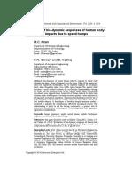 2014 Evaluation of Bio Dynamic Response