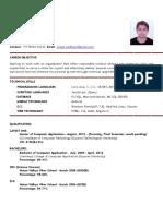 Resume for Fresher-1