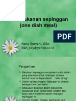 One Dish Meal