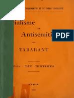 Tabarant Adolphe - Socialisme et antis'mitisme.pdf