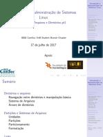 Aula02 - Introdução à Administração de Sistemas Linux