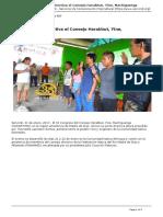 Noticia 31 Enero, Junta Directiva Cohayirma