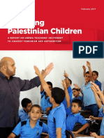 Poisoning Palestinian Children - UNW Report on UNRWA Incitement