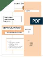 Deprogramacion Terminal Terrestre