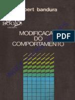 Modificação Do Comportamento - Albert Bandura (Index)