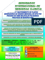 PRIMER SEMINARIO INTERNACIONAL DE INGENIERIA CLINICA-SEGUNDA JORNADA