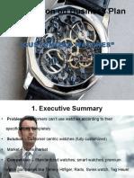 Presentation on Business Plan
