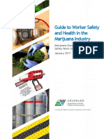 Guide to Worker Safety and Health in the Marijuana Industry