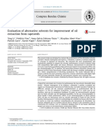 Evaluation of alternative solvents for improvement of oil extraction from rapeseeds.pdf