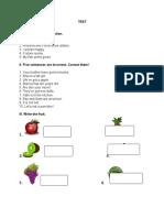 Test 2 Fruit