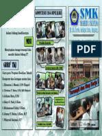 Brosur SMK Negeri 3 Kupang TKJ