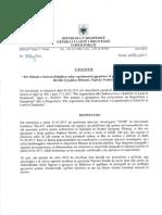 KLD hetim disiplinor për gjyqtaren Pajtime Fetahu
