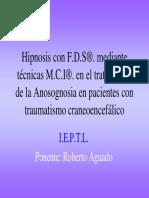 Aguado-Hipnosis Anosognosia Traumatismo Craneoencefalico