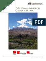Plan de Gestion de Recursos Hidricos de La Cuenca Quilca-chili 0 0