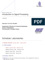 Digital Signal Processing Lecture+6%2C+January+25th