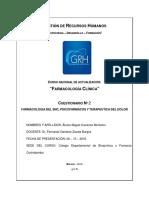 Farmacología Del Sistema Nervioso Central, Psicofármacos y Terapéutica Del Dolor Carátula