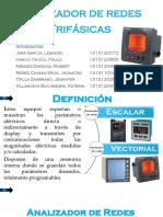 Analizador de Redes Trifasico