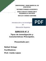 Introduccion Investigacion Ejercicio 2