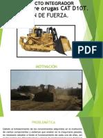 Tractor Sobre Orugas Cat d10t Diapositivas