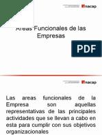 Areas Funcionales Empresa